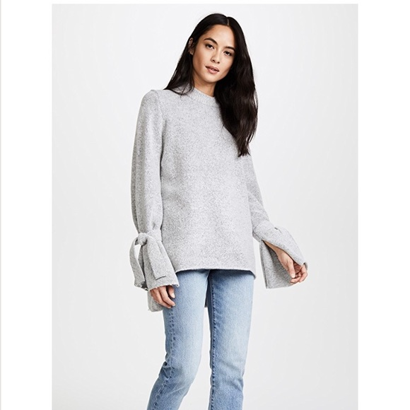 4d16258bd82f9e J.O.A. Sweaters | Joa Tie Sleeve Sweater | Poshmark